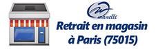 retrait gratuit de votre commande de vetement pro et de chaussure de securite dans notre magasin Manelli de Paris