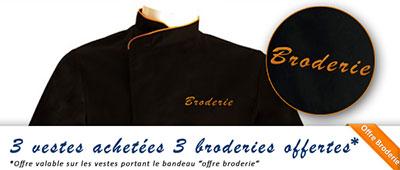 Vetement de cuisine et tenue de cuisine restauration for Vetement cuisine paris