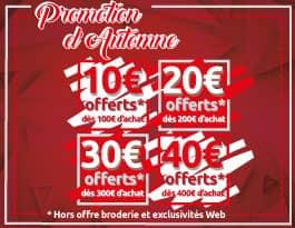 Bénéficiez de remises exceptionnelles sur Manelli.fr !
