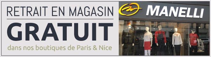 retrait gratuit en magasin à Paris et Nice