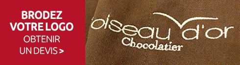 Manelli brode votre logo