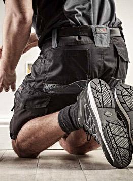 shorts de travail