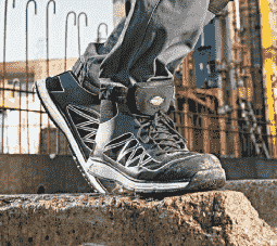 chaussure securite femme et homme montante, bottine securite, boots securite