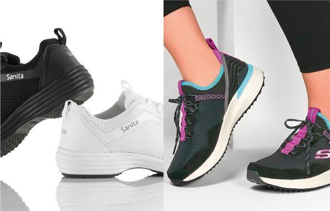 chaussures médicaux et sneakers