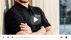 video broderie sur workwear