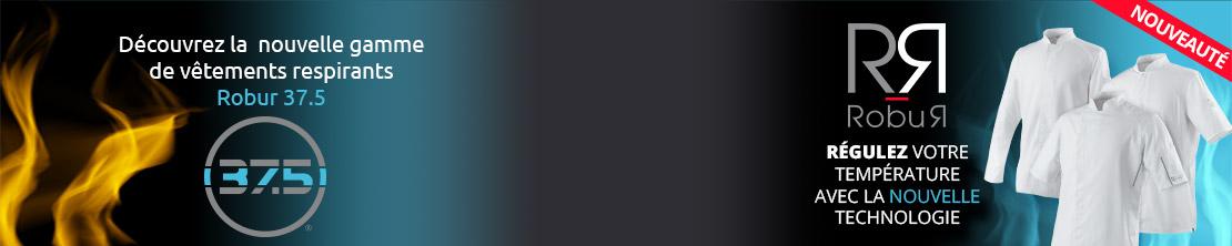 la nouvelle gamme de vêtements respirants de Robur