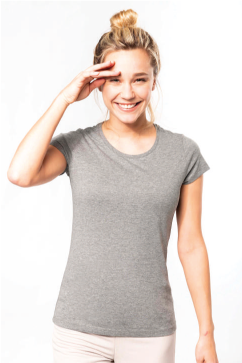 T-shirt femme 100% Coton Biologique