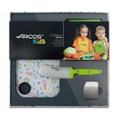 coffret couteau enfants vert