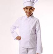 veste de cuisine enfant blanc