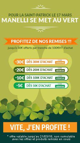 remise de 10€ par tranche de 100€ sur tous les vêtements de travail et chaussures de sécurité